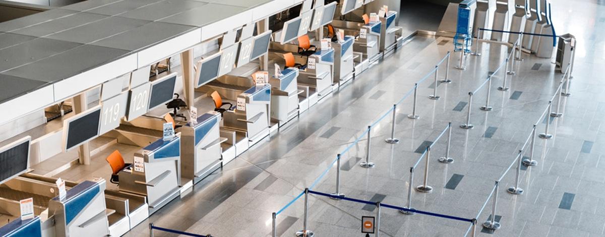 Monitor Flughafen