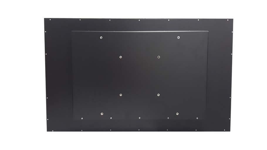 Panel PC Serie von 32 bis 65 Zoll Rückseite