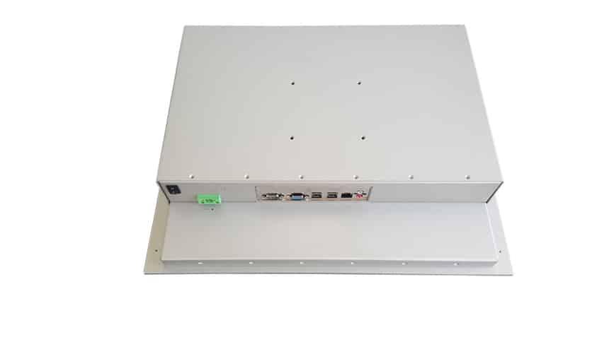 Touch Panel PC (Kapazitiver Touch) mit Intel Celeron Bay Trail J1900 CPU - Rückseite