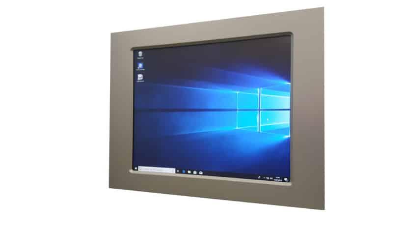 Touch Panel PC (Kapazitiver Touch) mit Intel Celeron Bay Trail J1900 CPU